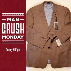 NWT Tommy Hilfiger Tailored Trim Fit Suit Jacket